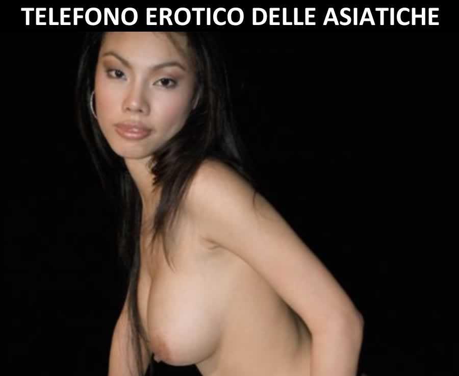 Telefono erotico delle asiatiche